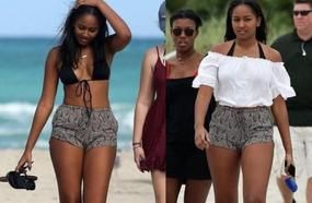 Photo Of Sasha Obama Goes Viral After People Realize Something About