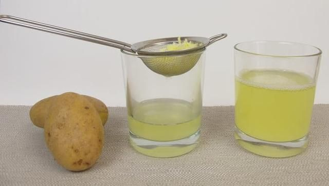 Potatoes are actually 80% water and 20% solid