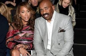 Steve Harvey Defends His Wife