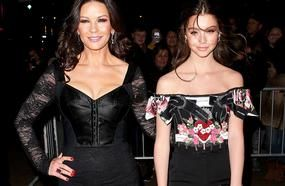Catherine Zeta-Jones Brings Stunning Mini-Me Daughter Carys, 14, To Party In Nyc