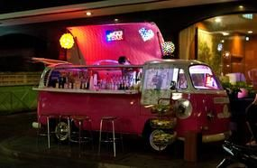 Vehicles Converted Into Bars