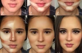 Step By Step Face Contouring Procedure