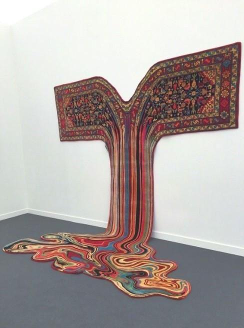 The Melting Carpet Art