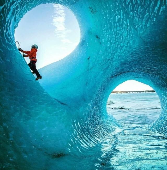 The Ice Caves In Iceland