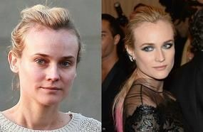 10 Shocking Photos Of Stars Without Makeup And Photoshop!