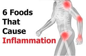 6 Foods That Cause Inflammation In Your Body