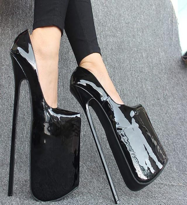 super high heels