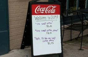 This Coffee Shop's Clever Sign Is Teaching Rude Customers A Lesson