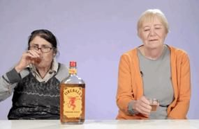Two Grandmas Try Fireball Whisky For The First Time, Reaction Has Internet Dying Of Laughter