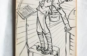 Sketches From The Trenches: Family Find WWI Soldier's Satirical Drawings Hidden For 100 Years
