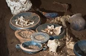 Untouched Roman Tomb Uncovered By Bulldozer