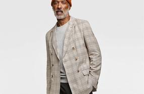 How To Wear A Check Blazer Like A Don