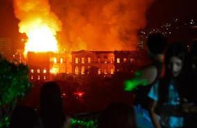 200 Years Of Brazilian History Were Destroyed In A Fire