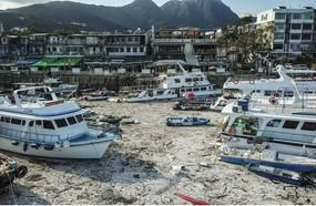 Hong Kong Boat Owners Count Cost Of Typhoon Mangkhut After Hundreds Of Vessels Are Washed Ashore, Damaged Or Sunk