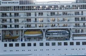 World's Biggest Yacht Full Of Millionaires Living In 'Floating City' Of Luxury Arrives In UK