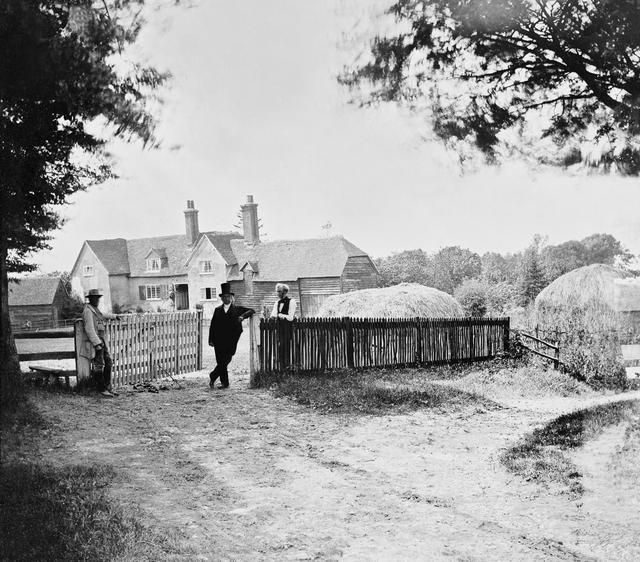 Idyllic Victorian Photos Of The 1850s English Countryside