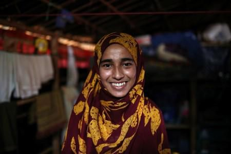 A Rohingya Girl's Journey From Refugee Camps To College