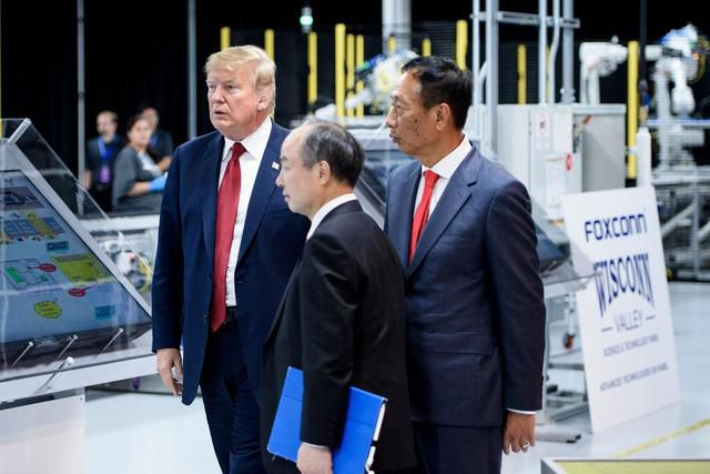 Foxconn Says Wisconsin Factory Plans Are Back On After Talk With Trump