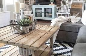 Beautiful And Elegant Farmhouse Living Room To Manage In Your House