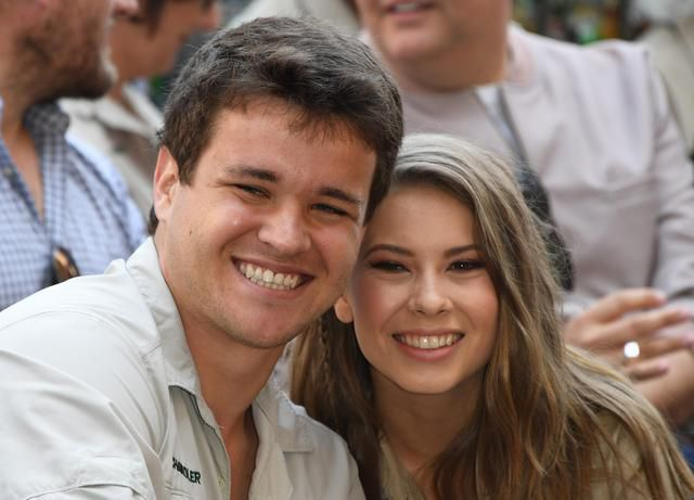 Crikey! It's the engagement: Bindi Irwin 'has been planning this' since age 7, her mom says