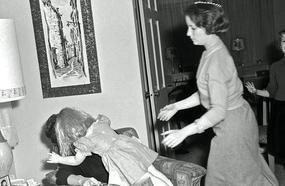 Vintage Found Photographs Of Creepy Dolls