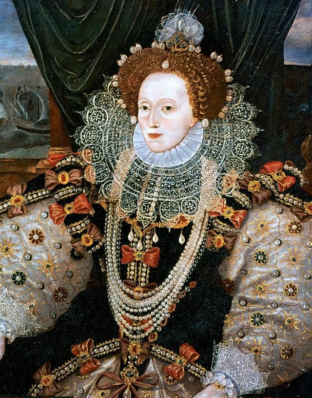 A portrait of Queen Elizabeth I circa 1588.