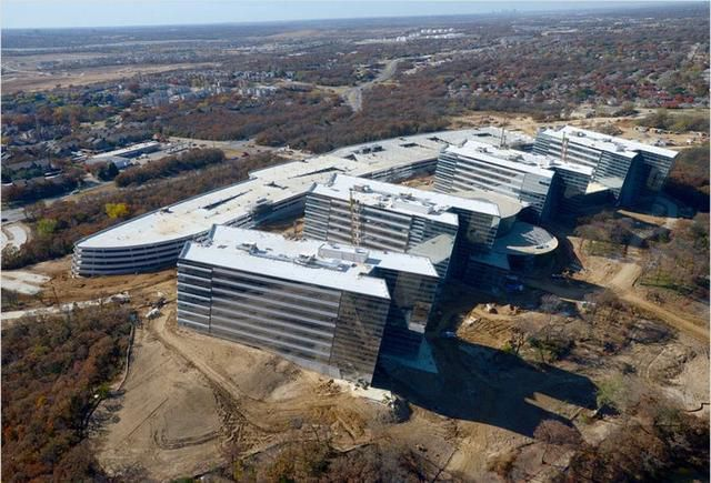 American Airlines is building a new $250 million hotel, conference center at the 'heart' of its HQ