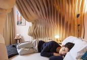 Womb-Inspired Bedroom Designed To Help Guests 'Sleep Like A Baby'