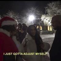Kanye West Bizarrely Celebrates Kim Kardashian's Nip Slip As She Flashes Christmas Party Guests