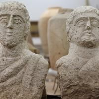 Woman Sees Head Sticking Out Of Ground, Finds 1,700-Year-Old Sculptures