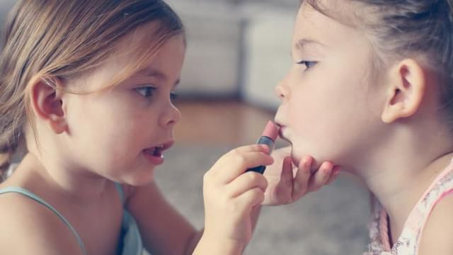 Don't Shame Me For Letting My Daughters Wear Make-Up