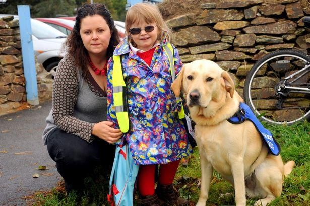 Mum Of Deaf Blind Girl Blocked Estate In Row Over Pavement Access For Daughter