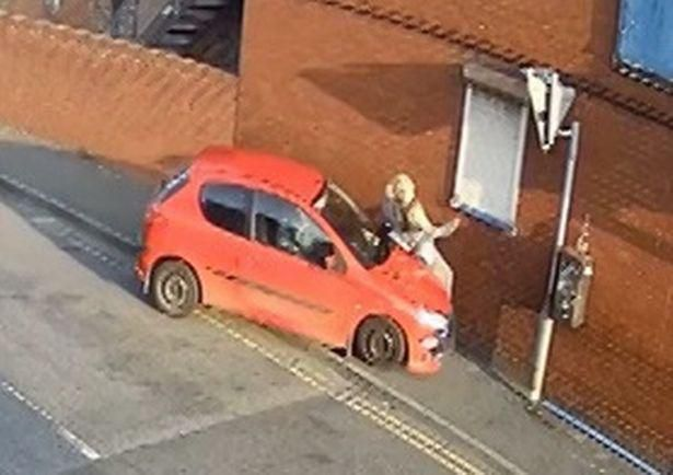 Watch Horrible Moment Man Used His Car 'As A Weapon' To Mow Down Victim