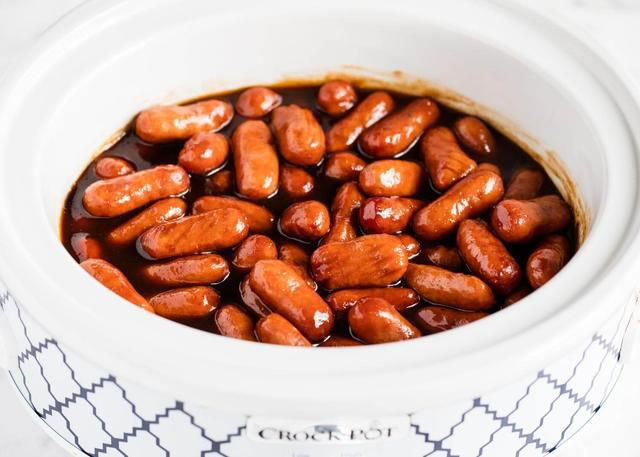 4-Ingredient Crockpot Little Smokies Recipe