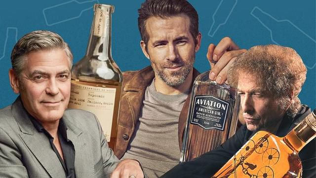 Stars Like George Clooney, Ryan Reynolds, And Bob Dylan Have Struck Gold With Liquor Launches, And Countless Celebrities Are Following Suit