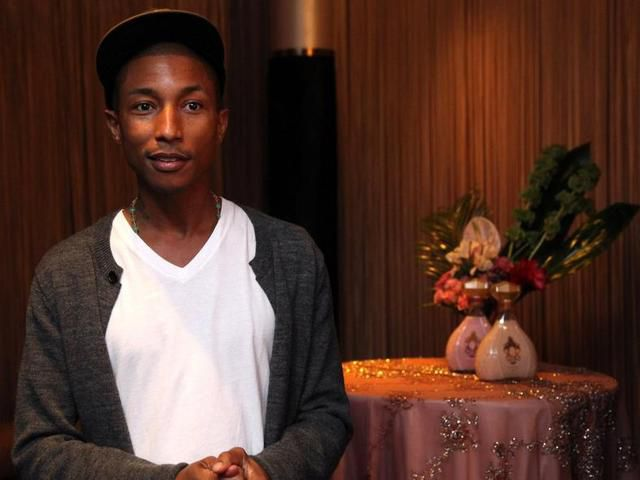 Pharrell Williams attends launch of QREAM WITH A Q on July 28, 2011 in Miami Beach, Florida.