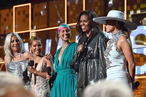 Michelle Obama Made A Surprise Appearance At The Grammys
