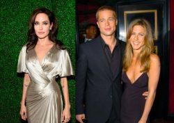 Story About Angelina Jolie's Reaction To Brad Pitt At Jennifer Aniston's Birthday Is Made-Up