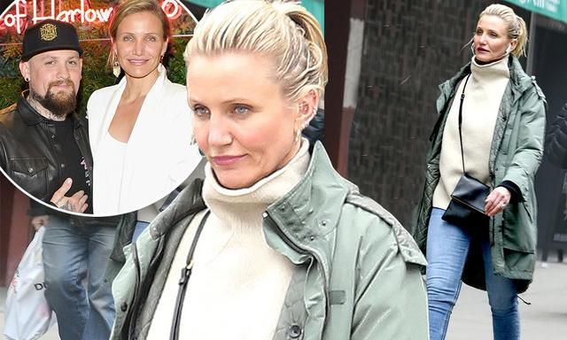 Cameron Diaz Is Seen Alone In NYC After Her Husband Benji Madden Calls Her The 'Light Of My Life' In Sweet Valentine's Day Post