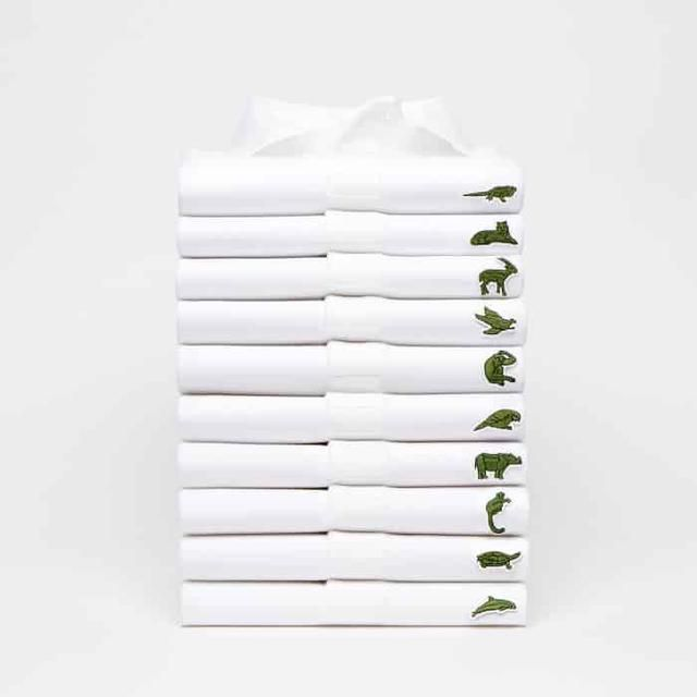 Lacoste Changes Iconic Crocodile Logo With 10 Endangered Species To Raise Awareness