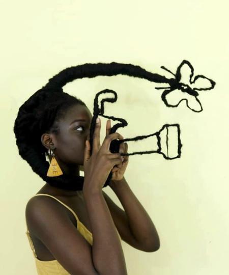 Hair Sculptures