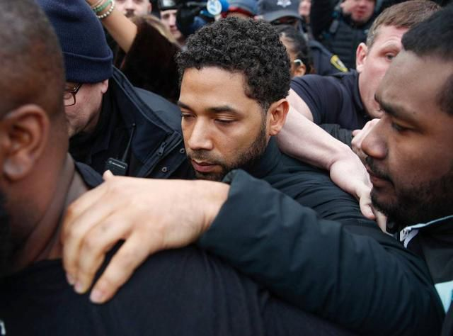 Jussie Smollett Returns To Empire Set 2 Hours After Leaving Jail