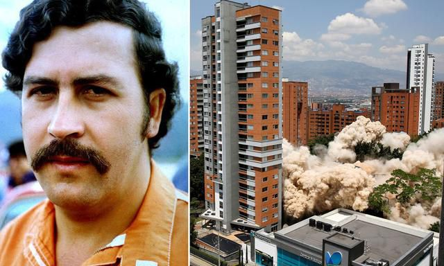 Colombia Tears Down Drugs Kingpin Pablo Escobar's Infamous Eight-Storey Apartment Because It Was Becoming A 'Sick Attraction'