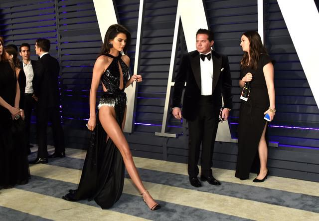 Kendall Jenner Didn't Wear Underwear To An Oscars Party And Almost Flashed Everyone