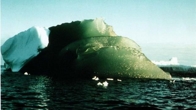Some Icebergs Are A Glorious Emerald Green. Why?