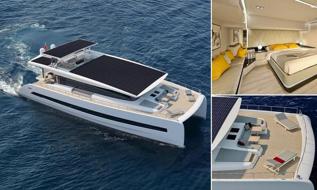 No Fuelling You! The £4M Super Yacht Powered Completely By Solar Power And Cruises In 'Pure Silence'
