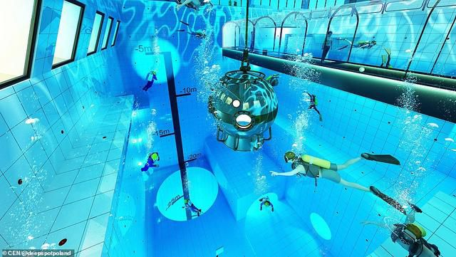 The Deepest Pool In The World: Swimmers Will Be Able To Dive 148ft Down In Incredible Polish Pool