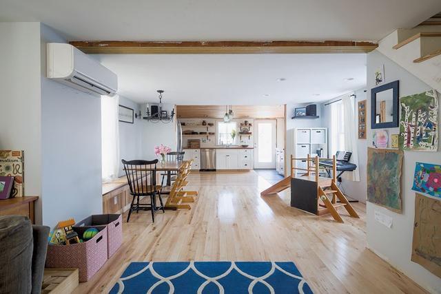Old Meets New: A DIY Couple Transforms A Burlington House Into Their Dreamhome