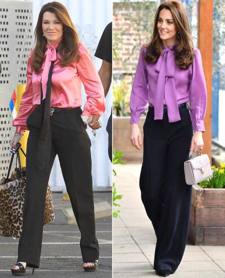 Lisa Vanderpump Responds To Kate Middleton Outfit Comparisons – And Shares Their Big 'Difference'