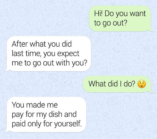 A Guy Refused To Pay For A Girl On A Date, And His Reasoning Raises Crucial Questions